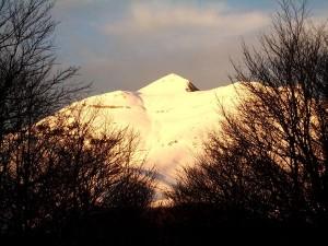 Ochagavia / otsagabia Pico de Orhi nevado
