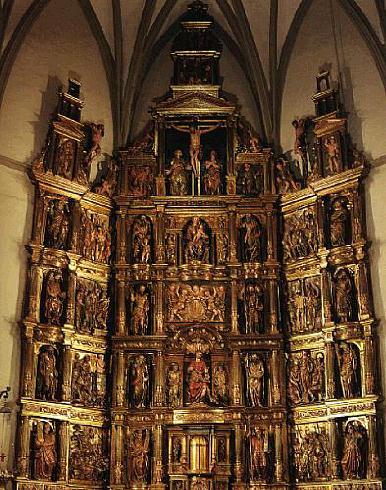 Ochagavia / Otsagabia_retablo_parroquia_San_Juan_Evangelista