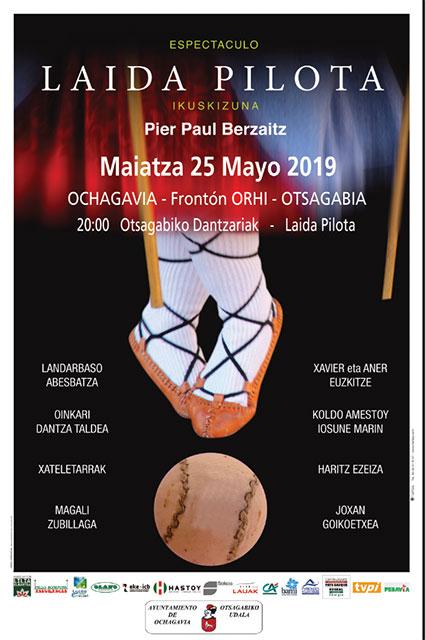 Espectáculo Laida Pilota 25 de mayo de 2019.