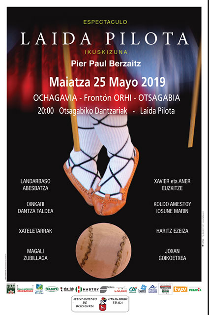 Espectáculo Laida Pilota 25 de mayo de 2019